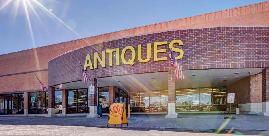 Colorado Antique Mall Store Front