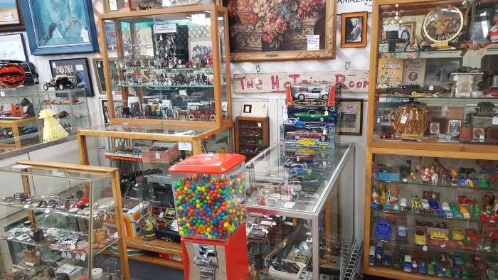 Collectibles, Toys, and Jewlery in booth 032.