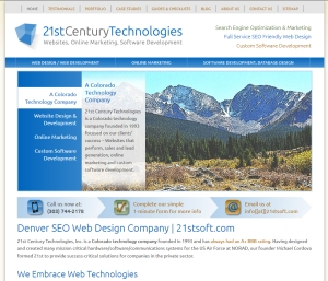 SEO Web Design Company Denver