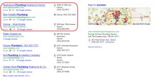 Local SEO Marketing - Google Plus Local Listings